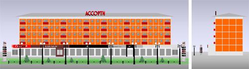 Реконструкция фасада и площади ТК «Правый берег».