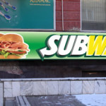 Вывеска subway