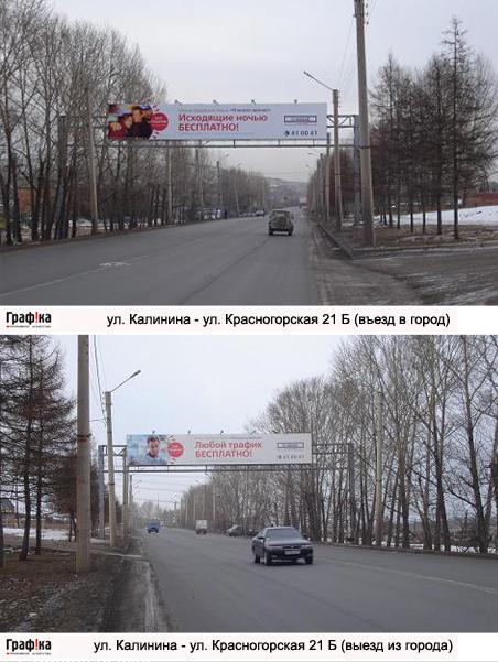 Эстакада ул. Калинина - Красногорская 21 Б