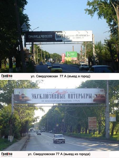Эстакада ул. Свердловская 77 а