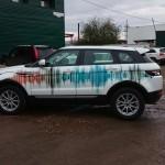 Брендирование автомобилей компании «Спектр»