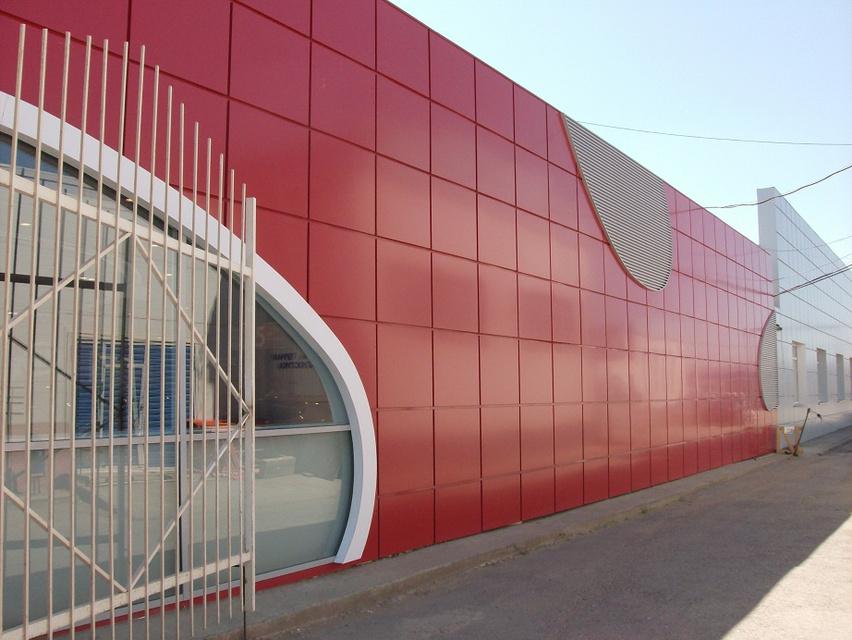 фасад из композитных материалов